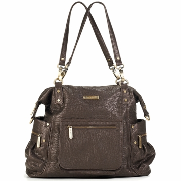Timi & Leslie Abby Diaper Bag in Espresso Brown