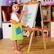 P'kolino Little Ones Easel in Cobalt