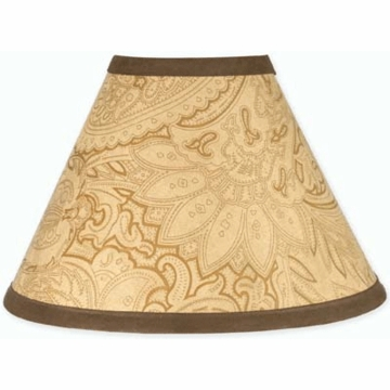 Sweet JoJo Designs Camel Paisley Lamp Shade
