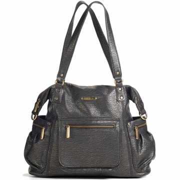 Timi & Leslie Abby Diaper Bag in Graphite Gray