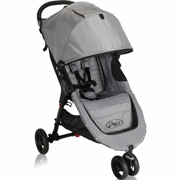 Baby Jogger City Micro Single Stroller in Grey / Black