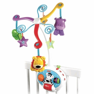 Fisher-Price 2 in 1 Activity Friends Mobile