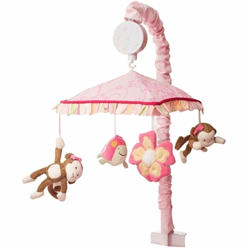 KidsLine Miss Monkey Musical Mobile