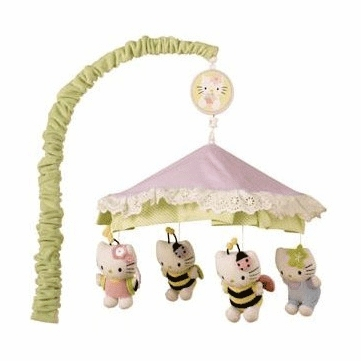 Lambs & Ivy Hello Kitty Friends Musical Mobile