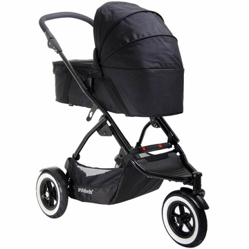 Phil & Teds Dot Carry Cot Sunhood - Flint