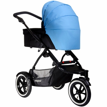 Phil & Teds Navigator Carry Cot Sunhood - Sky