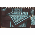 Sweet JoJo Designs Bella Turquoise 9 Piece Crib Bedding Set