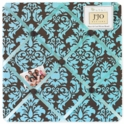 Sweet JoJo Designs Bella Turquoise Fabric Memo Board