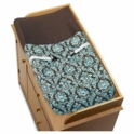 Sweet JoJo Designs Bella Turquoise Changing Pad Cover