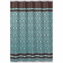 Sweet JoJo Designs Bella Turquoise Shower Curtain