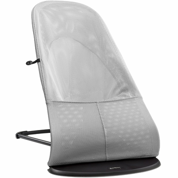 BabyBjorn Bouncer Balance Soft, Mesh - Silver/White