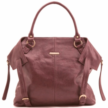 Timi & Leslie Charlie Diaper Bag in Burgundy