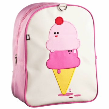 Beatrix New York Little Kid Backpack -  Dolce & Panna (Ice Cream Cones)