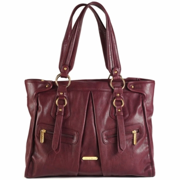 Timi & Leslie Dawn Diaper Bag in Burgundy