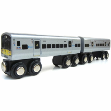 Munipals MTA LIRR Subway Train Cars - Set of 2