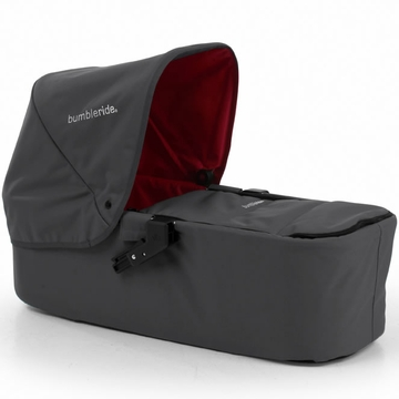 Bumbleride Indie Single Carrycot in Fog Grey