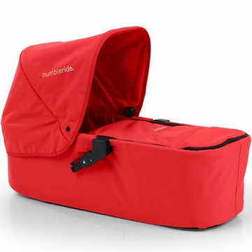 Bumbleride 2013 Indie Twin Carrycot in Cayenne Red