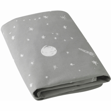DwellStudio Galaxy Dusk Fitted Crib Sheet