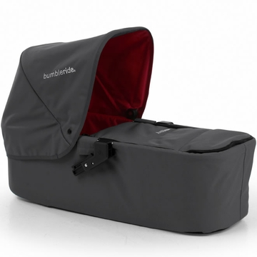 Bumbleride Indie Twin Carrycot in Fog Grey