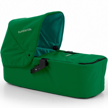 Bumbleride 2013 Indie Twin Carrycot in Green Papyrus