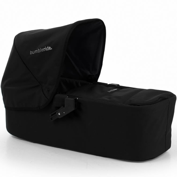 Bumbleride Indie Twin Carrycot in Jet Black