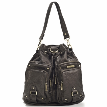 Timi & Leslie Hart Diaper Bag in Espresso Brown