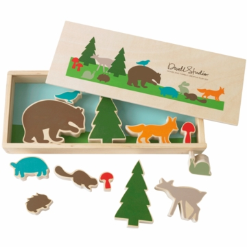 DwellStudio Woodland Tumble Creative Play Set