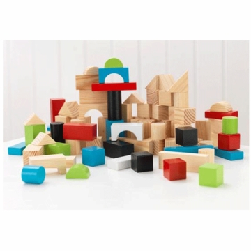 KidKraft Wooden Block Set 100 Pieces