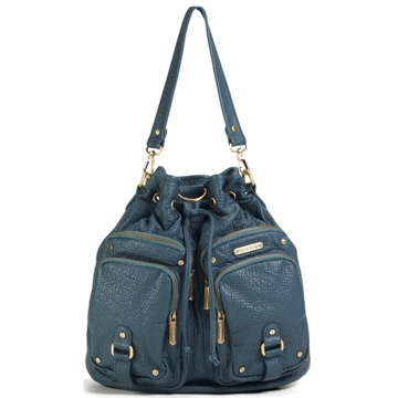 Timi & Leslie Hart Diaper Bag in Ocean Blue