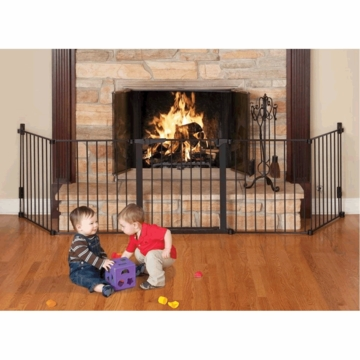 Kidco Auto Close HearthGate - Black