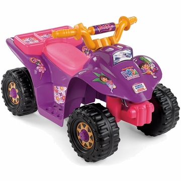 Fisher-Price Power Wheels Dora The Explorer Lil' Quad
