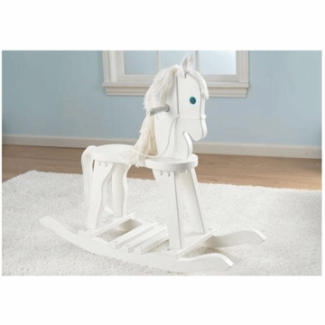 KidKraft Derby Rocking Horse in White