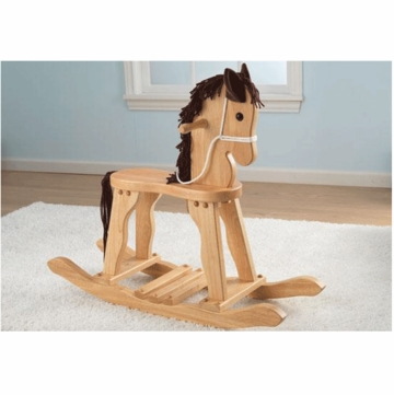 KidKraft Derby Rocking Horse in Natural