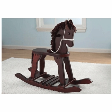 KidKraft Derby Rocking Horse in Cherry