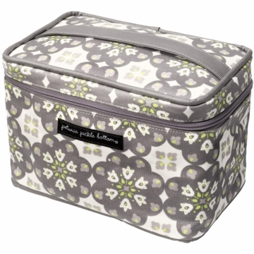 Petunia Pickle Bottom Travel Train Case Misted Marseille