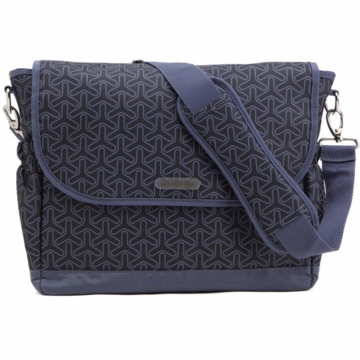 Timi & Leslie Messenger Diaper Bag in Joey