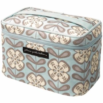 Petunia Pickle Bottom Travel Train Case Peaceful Portofino