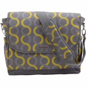 Timi & Leslie Messenger Diaper Bag in Sami