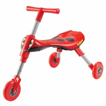 QuickSmart Scuttle Bug in Red/Black
