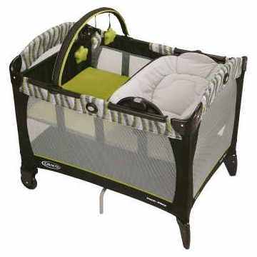 Graco Baby Pack n Play Playard with Reversible Napper & Changer - Omni