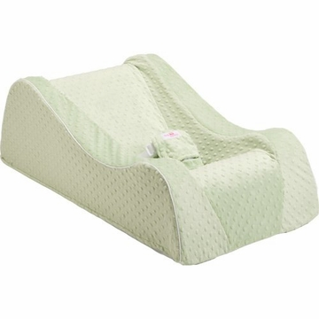 Nap Nanny Chill Portable Recliner in Minky Sage