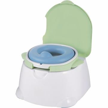 Safety 1st Comfy Cushy Potty Trainer & Step Stool - Blue