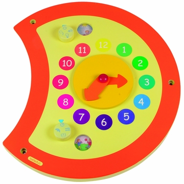 Hape Caterpillar Clock Wall Panel