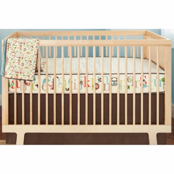 Skip Hop Alphabet 4 Piece Crib Bedding Set with Wall Decals