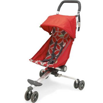 QuickSmart Backpack Stroller - Geometric Red