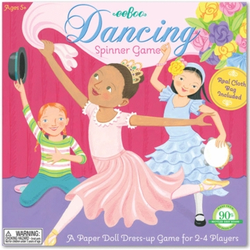 eeBoo Dancing Spinner Game