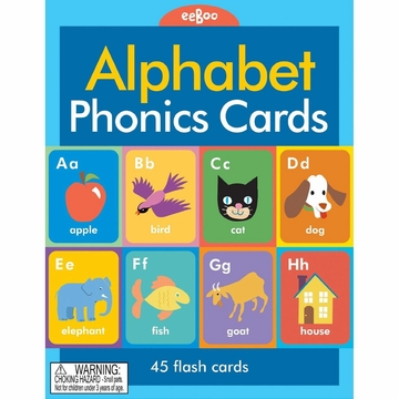 EeBoo Alphabet Phonics Flash Cards