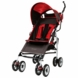The First Years Ignite Stroller Red Stripe Grey