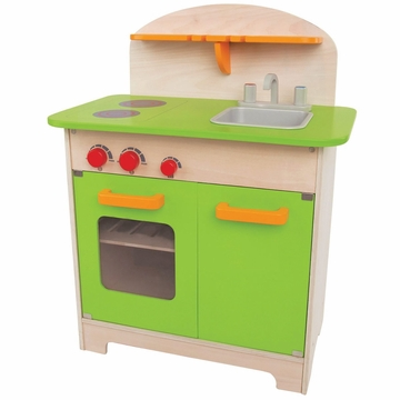 Hape Gourmet Chef Kitchen in Green