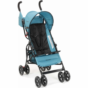 The First Years Jet Stroller - Pop of Teal (Black / Teal)